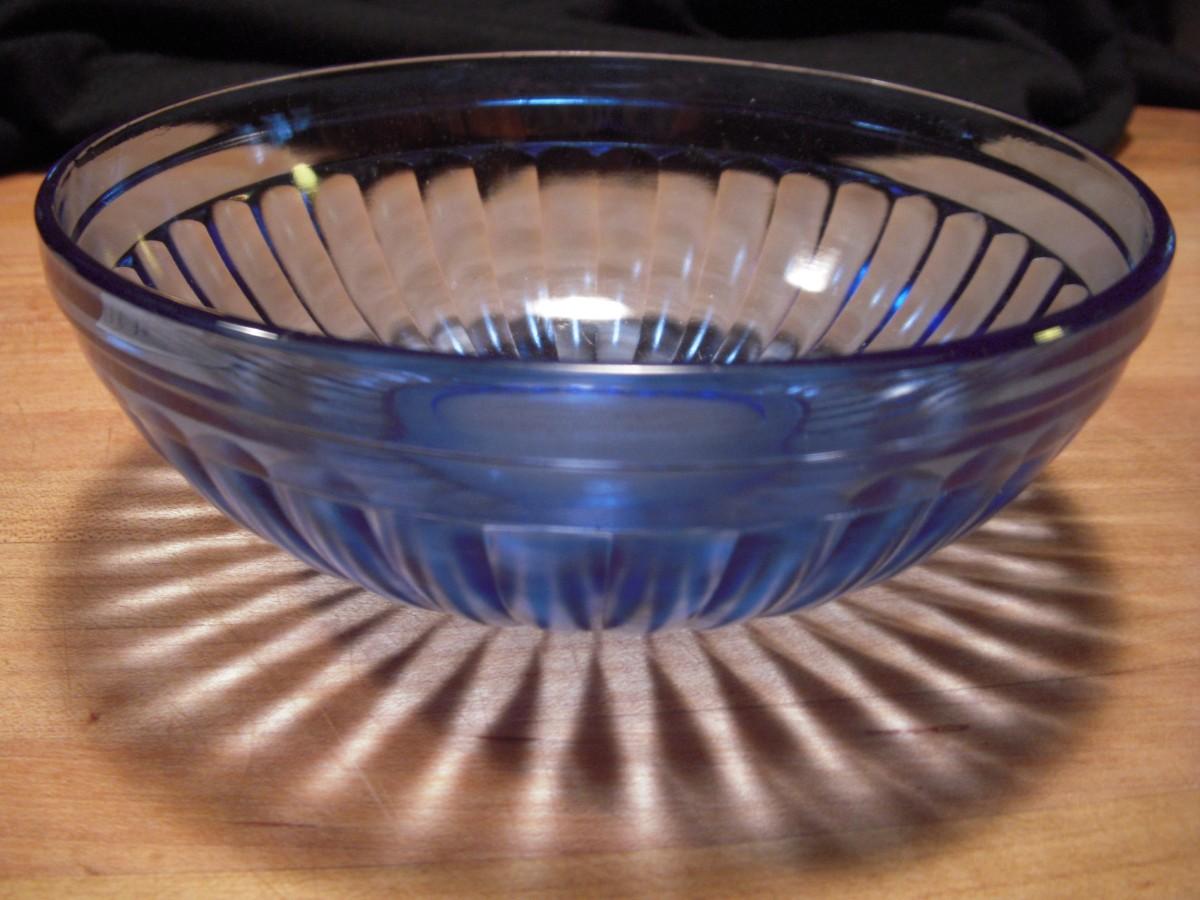 Hazel Atlas Depression Glass COBALT MODERNTONE Sandwich Plate Multiple Available